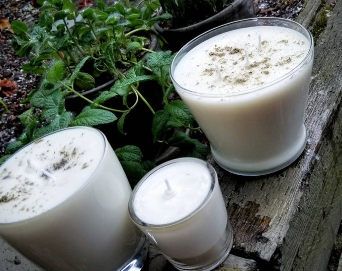 Lavender Mint Scented Candle