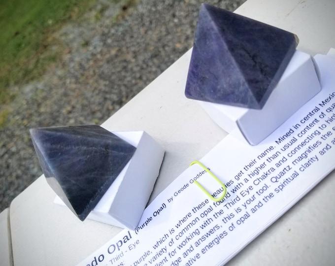 Morado Opal Pyramids