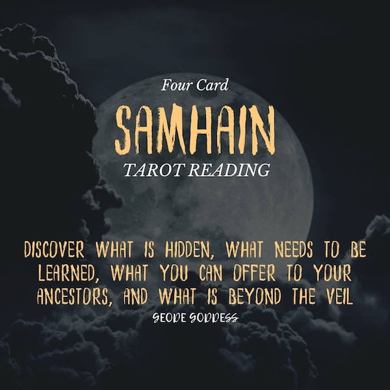 Samhain Four Card Tarot Reading