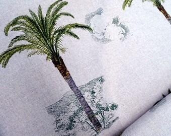 Decorative fabric palm