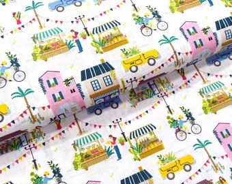 Cotton fabric weekly market
