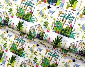 Cotton fabric gardener