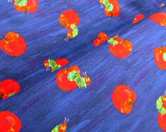 Cotton jersey caterpillar Nimmersatt