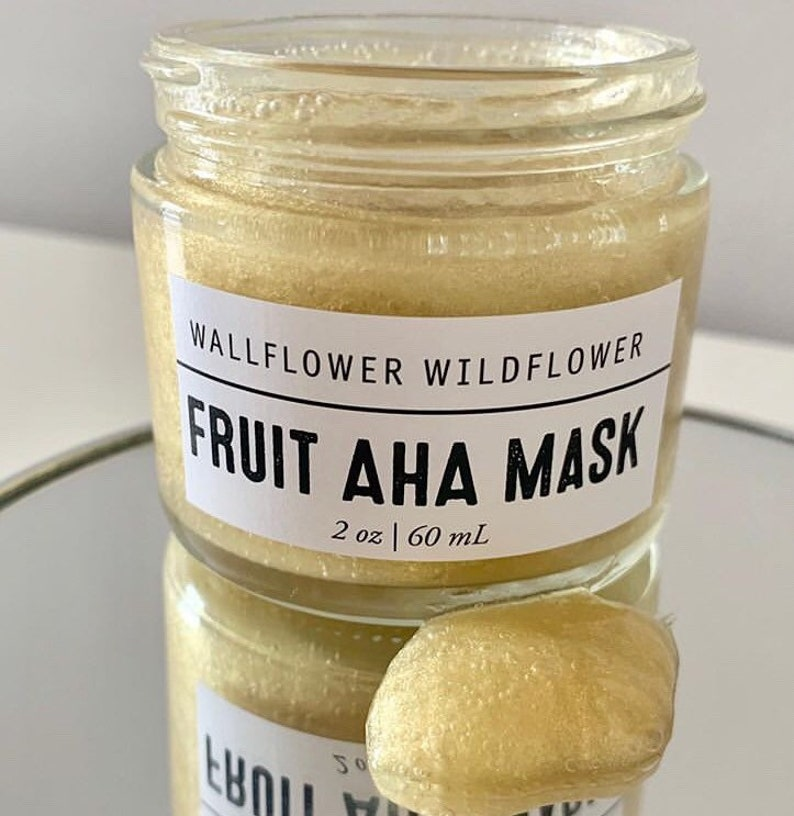 Fruit AHA Exfoliating Gel Mask  Wallflower Wildflower Alpha image 0