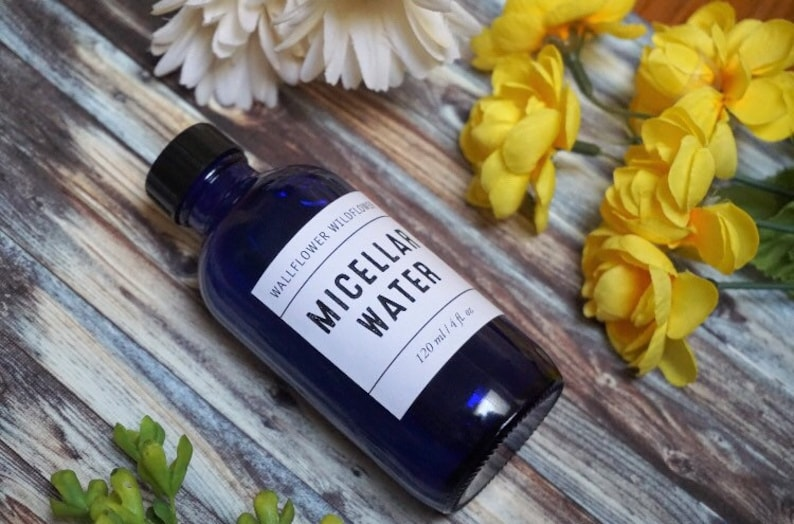 Micellar Water 4 oz Wallflower Wildflower Calming Makeup image 0