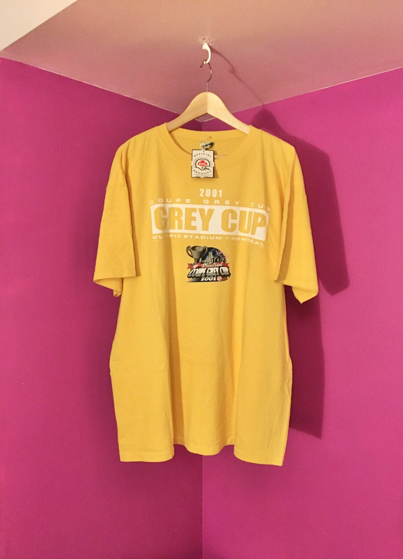 2001 Grey Cup Montreal T-Shirt