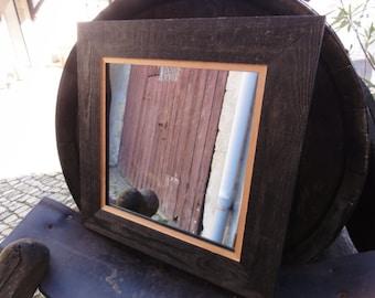 Rustikale Holz Spiegel Etsy