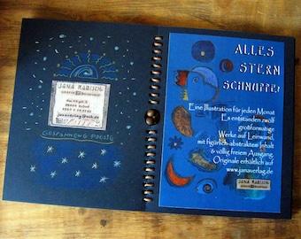 STERNSCHNUPPE ~ Book Art