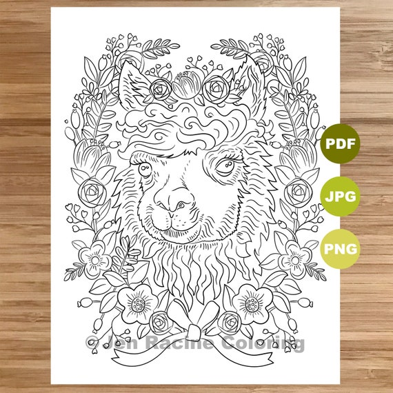 Free Coloring Pages - Doodle Art Alley | 570x570