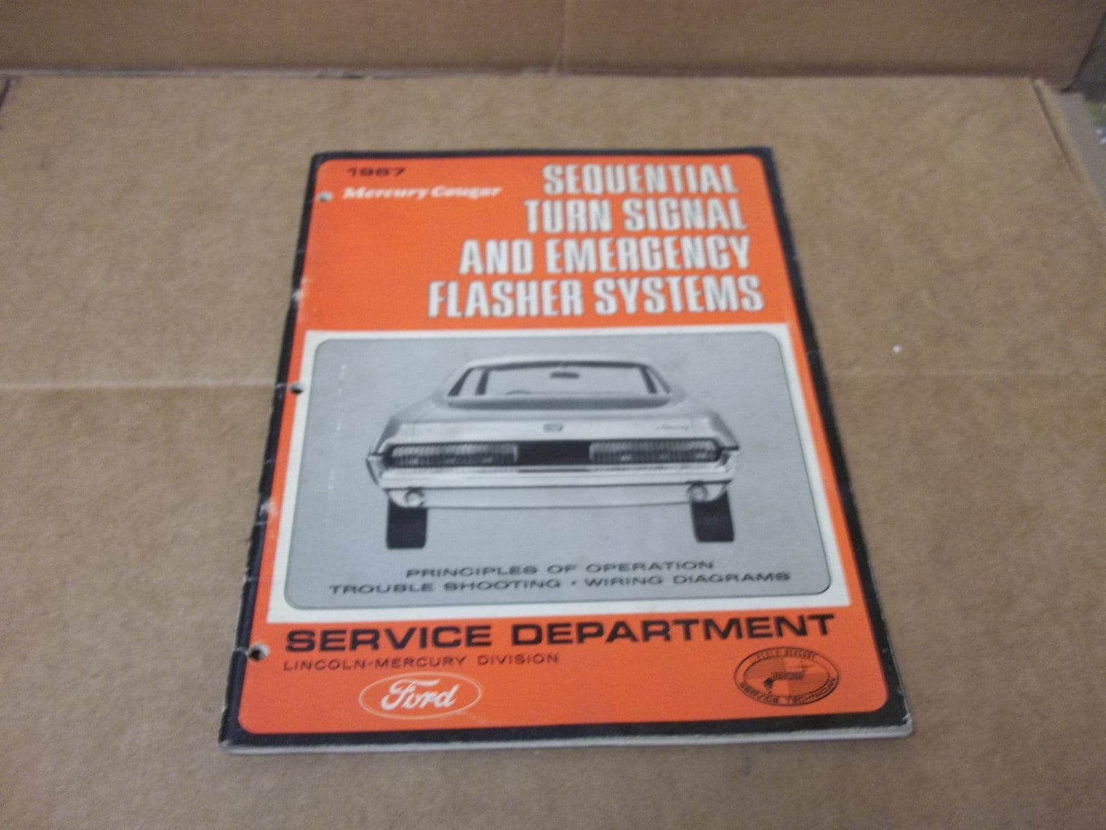Used 1967 Cougar Mustang Sequential Turn Signal Diagnosis Etsy Wiring Diagram 50