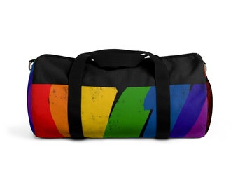 238b377a7a6b Rainbow duffel bag