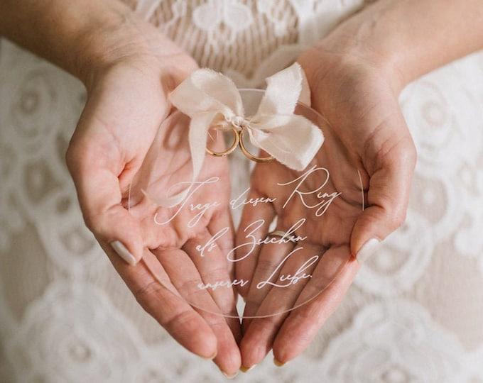Ringkissen Alternative Hochzeit