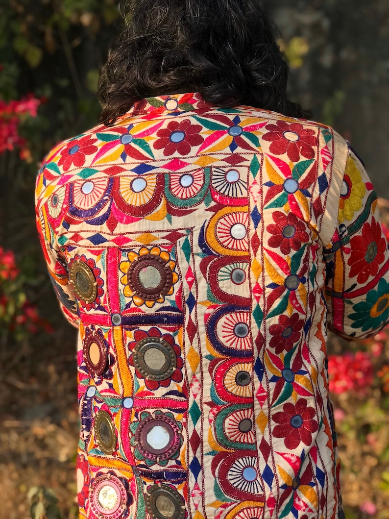 OOAK Banjara jacket  multicoloured coat  bohemian jacket