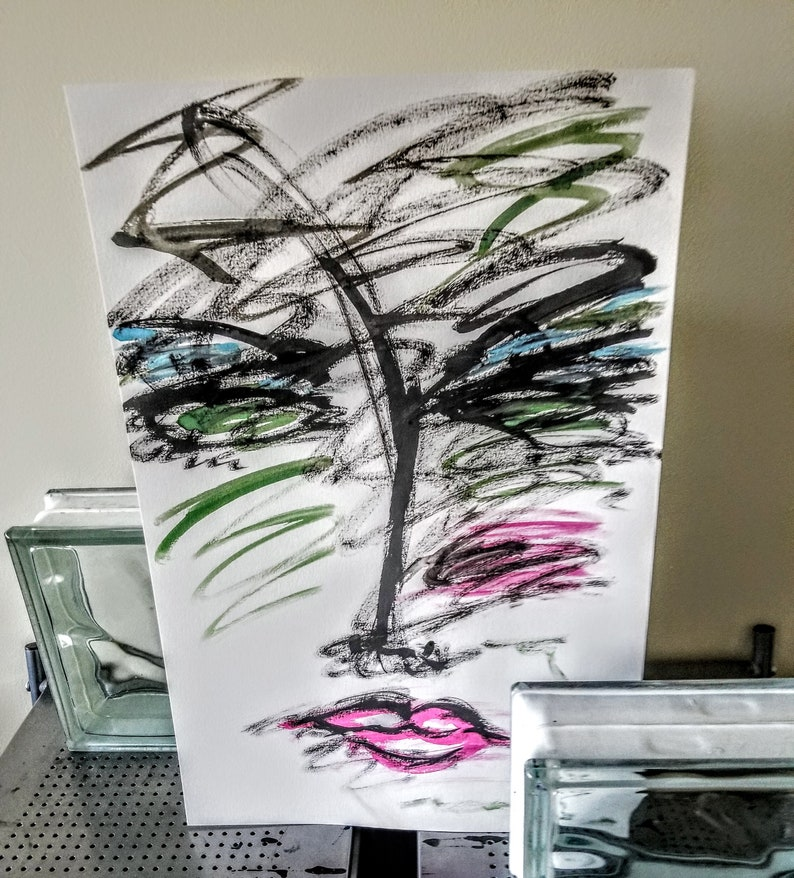 Abstract Watercolor Artist Trey Coppland Specializing In Modern And Contemporary Arts Abstract Arts Portraits And Shapes