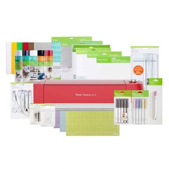 Cricut Explore Air™ 2, Raspberry + Everything Bundle
