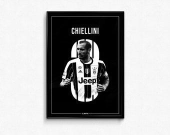 a220b17ef6c Giorgio Chiellini Juventus Poster Print