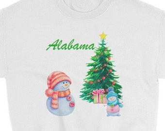 Alabama Snowman Etsy