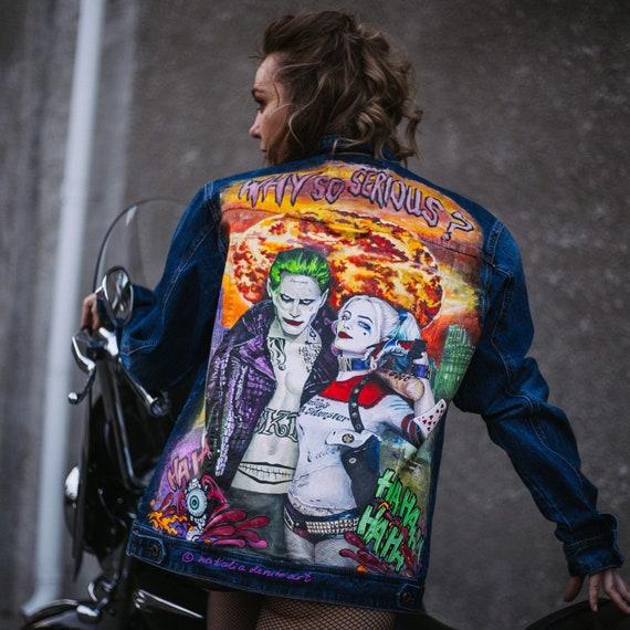 Harley T Shirt Batman film inspired squad movie suicide mens quinn