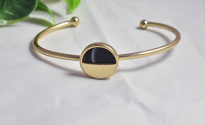 925 Silver Sterling Rhodium Bracelet,Wedding Bridal Silver Bracelet,Silver Plated Findings,Onyx Bracelet,Cuff Bracelet,Personalized Gift,