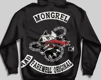 0223cdbc30eb Mongrels MC Days Gone Inspired Pullover Or Zipped Hoodie