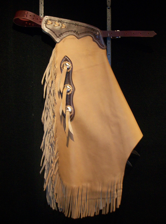 Custom Made Leather Chinks/New Chaps/R Bar K