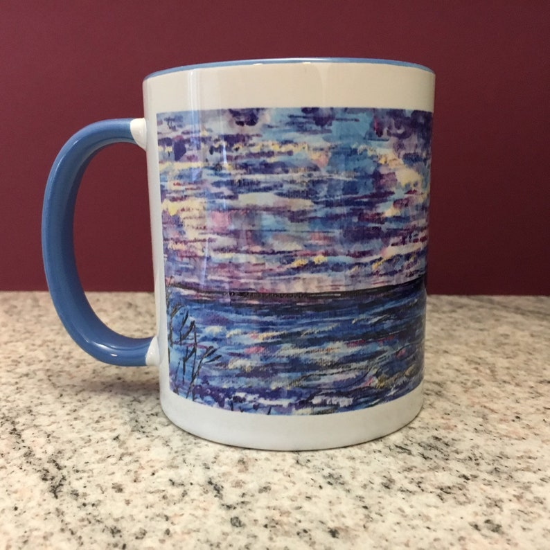 Beach and Sea Ceramic Mug