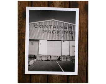 "Customs Place - 12x16"" art print"