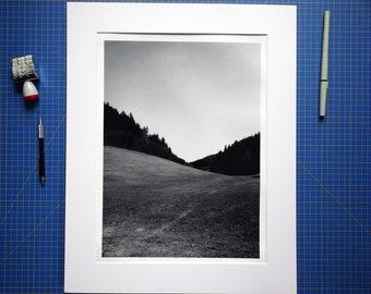 "Valley - 12x16"" art print"