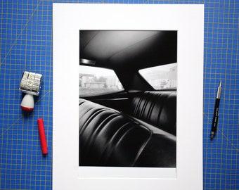 "Pontiac Star Chief Backseat - 10x12"" art print (24x30cm)"