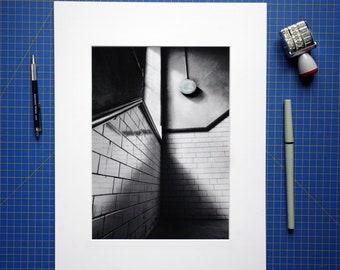 "Alberthall - 10x12"" fine art print"