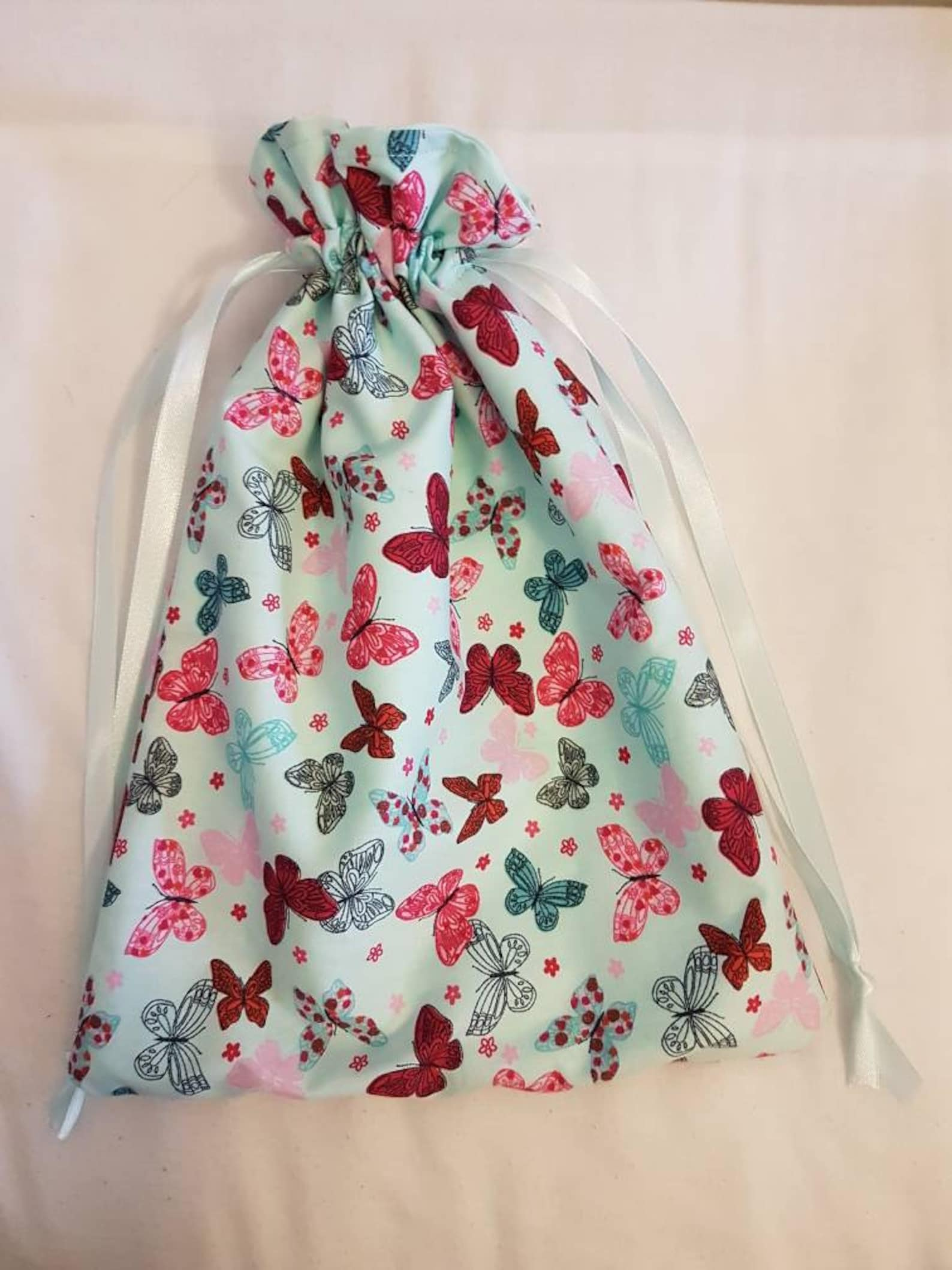 butterfly ballet shoe bag
