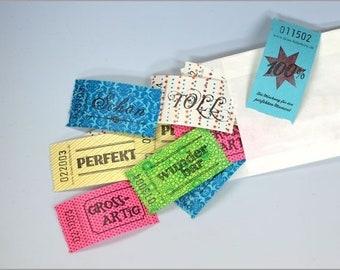 Lucky tickets set 100% set of 25
