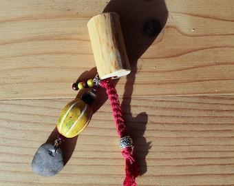 Unique, One of a Kind Dreadlock Bead, Handmade, Mookley Dreadlocks