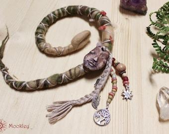 Hair wrap, Dread wrap, Merino Wool, Protector series, Mookley dreadlocks