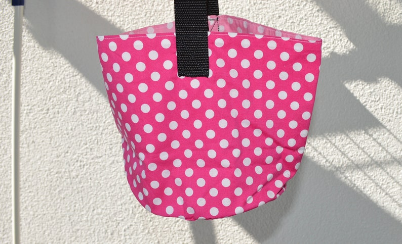 Clothespin bag pink