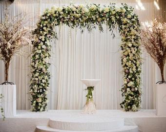 Metal Wedding Arch Etsy