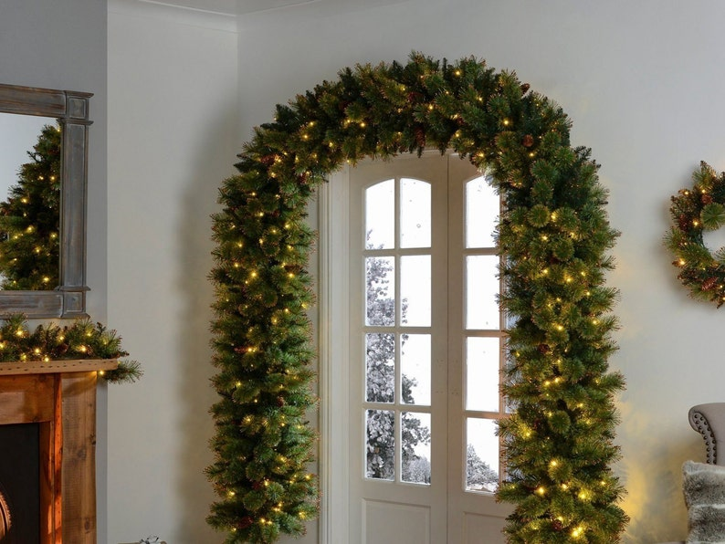 Christmas Arch Christmas Garland Christmas Decorations Christmas Decor Christmas Backdrop Holiday Decor