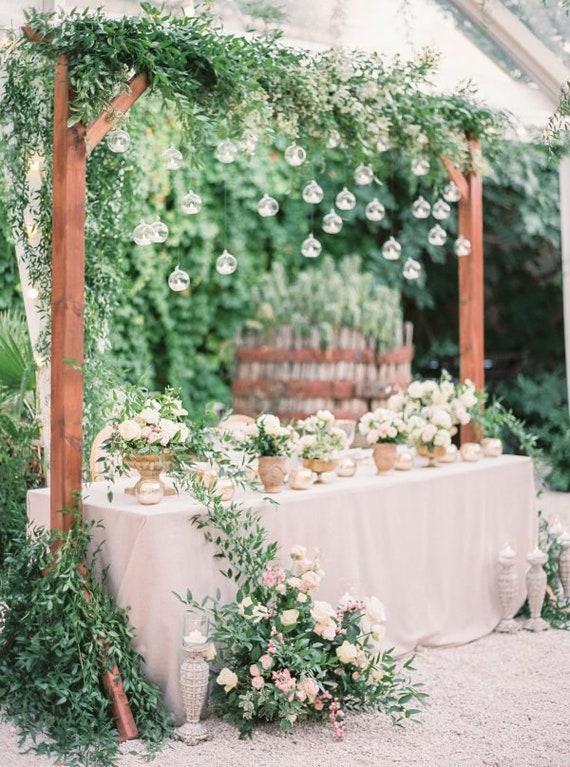 20 Pcs Hanging Glass Terrarium Greenery Wedding Decor Glass Etsy