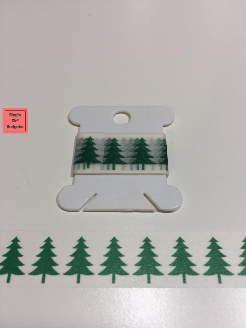 Trees Washi Tape Sample 24