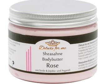17.00 EUR/100g body butter-Sheasahne Rose