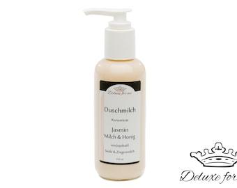 Shower milk jasmin, milk & Honey bath liquid with silk