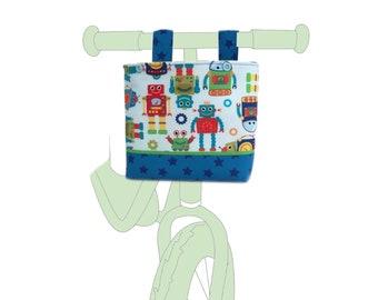 Handlebar Bag Bicycle Basket child Balance Bike Robot Balance bike basket robot handlebar bag