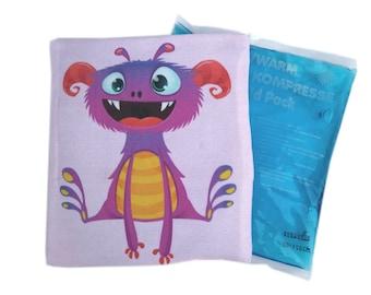 Cooling Pack Cooling Compress Dent Comforter Souvenir Little Gift Kids Compress Cooling Pad