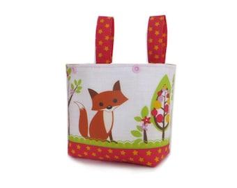 Handlebar Bag Bicycle Basket Balance Bike Bag Puky Basket Gift Child Fox balance bike basket fox handlebar bag