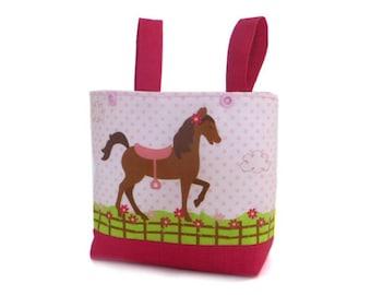 Handlebar Bag Bicycle Basket Balance Bike Bag Puky Basket Gift Child Horse balance bike basket Horse handlebar bag