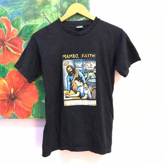 vintage 90s mambo tee Faith