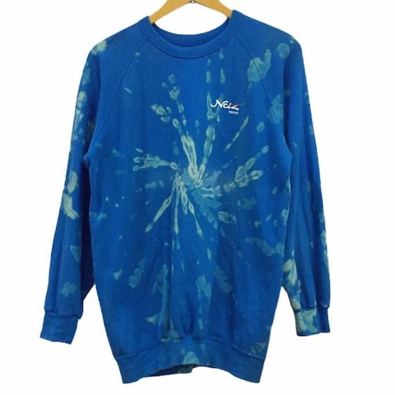 Vintage toyota sweatshirt bleach wash custom - image 2