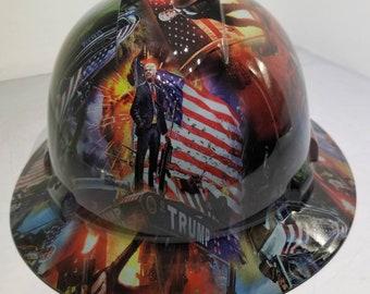 MAGA Hard Hat Stickers MAKE AMERICA GREAT AGAIN Motorcycle Helmet Decals 2