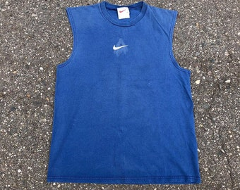 6e740966a76f84 Vintage 90s Nike Air Front   Back Tank Top