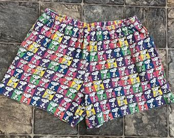 ea841bc666 Vintage 80s 90s Snoopy Shorts